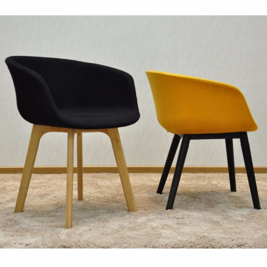 Simple Modern High Heel Home Furniture Wooden Restaurant Chair