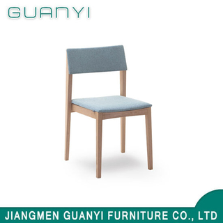 China Professional Simple Design Fabric Cushion Dining Chair