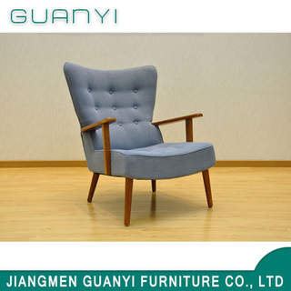 2019 Modern New Hotel Wooden Furniture Leisure Chair
