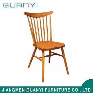 Modern Luxury Hotel Restaurant Solid Ash Wood Dining Room Chair