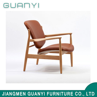 2018 New Style Soliod Ash Wood with Fabric Armchair