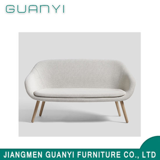 Luxury Simple Design Modern Home Furniture White Fabric Sofa Bedroom Furniture for Sale