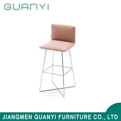 2019 Modern Metal Comfortable Backrest Dining Furniture Bar Stool