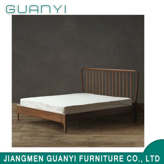 2019 Wooden Modern Hotel Furniture King Size Double Bed