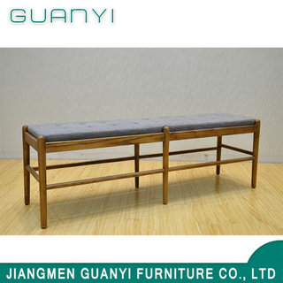 Nordic Style Soild Ash Wood Cushion Furniture Rest Benches