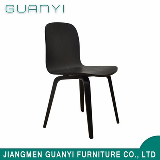 Modern American Style Black Office Meeting Wooden Chair