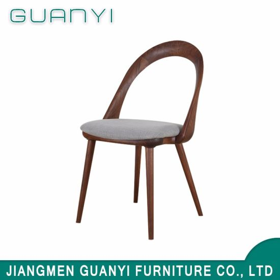 High Quality Imitated Wood Dining Soft Chair for Sale