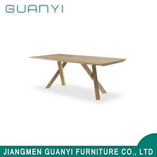 2018 Modern Kitchen Furniture Sets Solid Wood Dining Room Table
