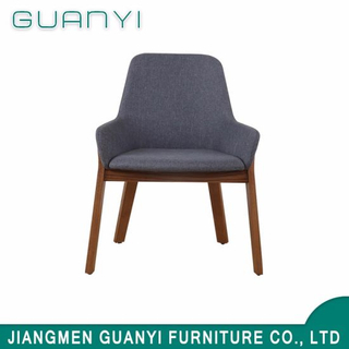Wooden High Back Upholstered Dining Chair Luxury Modern Made in China