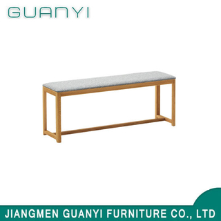 Contracted Style Natural Soild Wood Cushion Furniture Leisure Benches