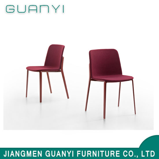 Classical Simple Red Design Wooden Hotel Dining Chair