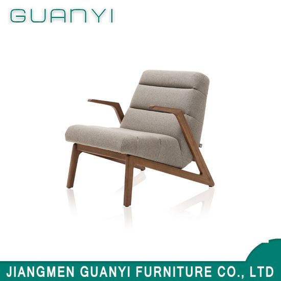 2019 Hot Sale Ash Wood High Density Cushion Armchair